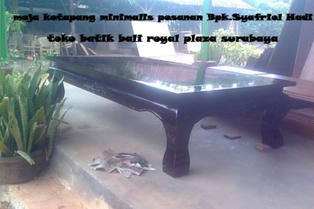 Meja Ketapang Indoor Furniture Toko Batik Bali Royal Plaza Surabaya