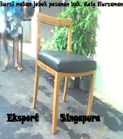 Kursi Makan Jebok Singapore Eksport