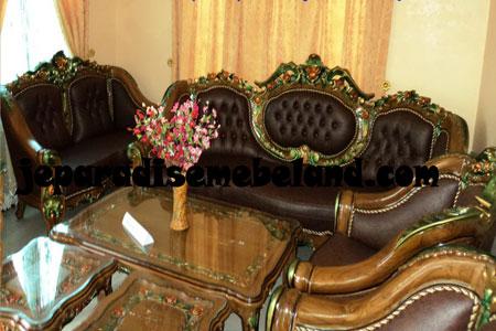 Set Kursi Sofa Monaco Ganesa Jumbo