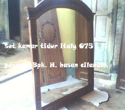Set Kamar Tidur Italy 075 Pesanan Bpk. H. Hasan Basri Cilandak