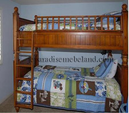 tempat tidur tingkat jual mebel jepara online