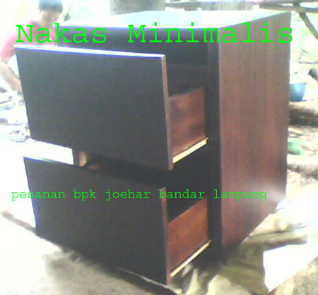 Nakas Minimalis Pesanan Ke-2 Bpk. Joehar Tanjung Karang Bandar Lampung