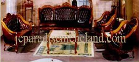 Sofa Tamu Monaco Selendang