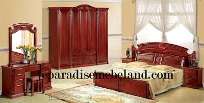 Furniture Jati Set Kamar Pengantin Baru