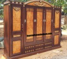 Furniture Samarinda Lemari Pakaian 5 Pintu