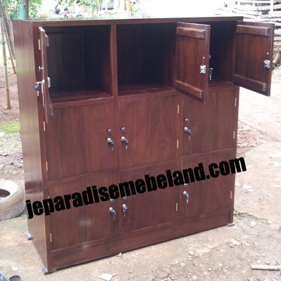 Lemari Loker 9 Pintu