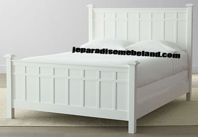 Tempat Tidur Minimalis Cat Duco