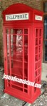Lemari Pajangan Model Telephone