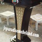 Mimbar Podium Polda Bali