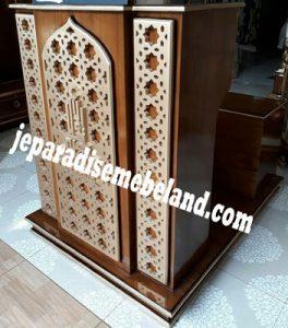 Mimbar Masjid Minimalis Terbaru