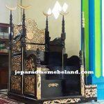 Mimbar Masjid Antique Kayu Jati