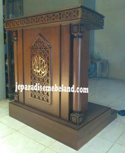 Mimbar Masjid Medan