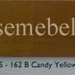 Candy Yellow Gloss / Doff