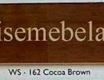 Cocoa Brown Gloss / Doff